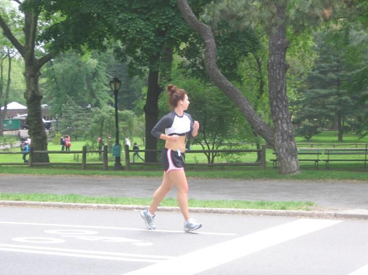 Central Park Runner, May 2009